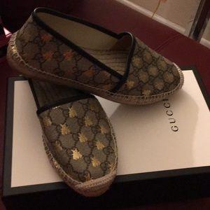 Gucci t.gg supreme beige ebony-oro/nero